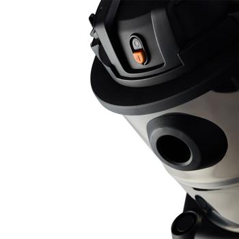 Aspirador De Pó E Água 1600W 20Lt Gtw Inox 20 Wap - 220V