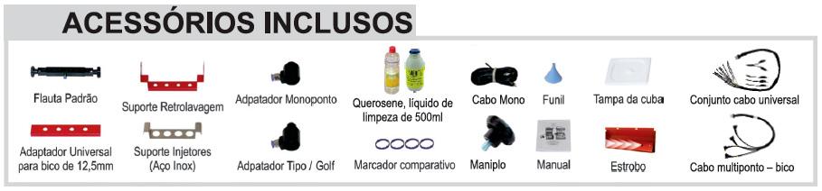 Limpeza e teste de bicos injetores Planatc LB-30000 G3 em Promoção!