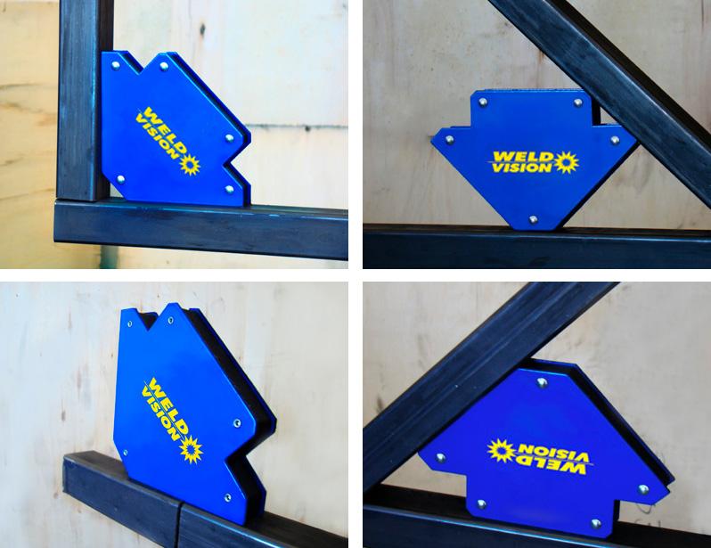 Esquadro Magnético para Soldador Serralheiro e Montador Weld Vision