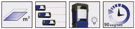 Trena A Laser Digital para Medições de 0,3 A 30M EM30 Irwin