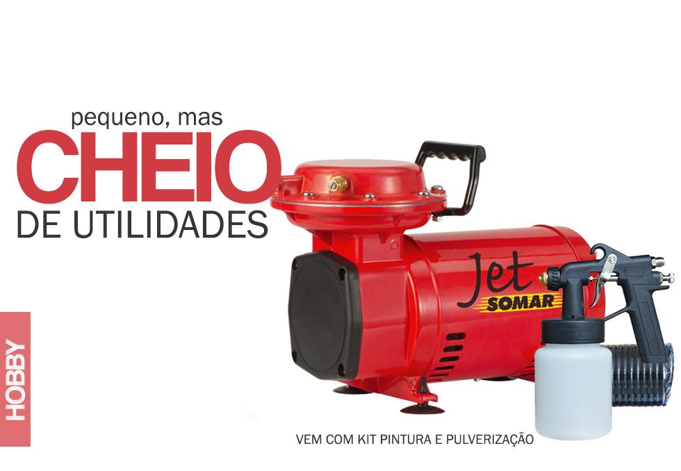 Aplicação do Compressor Hobby Jet Somar: