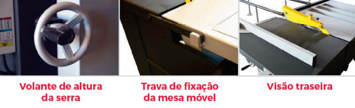 Esquadrejadeira Black Edition 2900mm Maksiwa – 220 /380V Trifásico