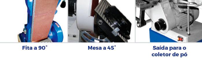 Lixadeira de Disco e Fita 230mm LDF Maksiwa – 127/220V