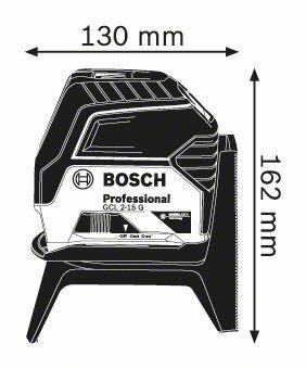 Nível a Laser GCL 2-15 G Bosch